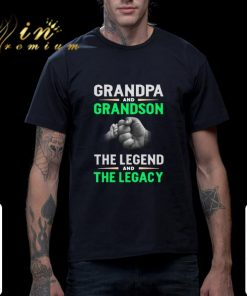 Official Grandpa and grandson the legend and the legacy shirt 2 1 247x296 - Official Grandpa and grandson the legend and the legacy shirt