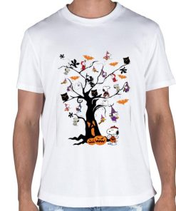 Official Halloween Snoopy Woodstock owl bats ghost Boo on the tree shirt 2 1 247x296 - Official Halloween Snoopy Woodstock owl bats ghost Boo on the tree shirt