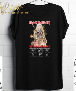 Official Iron Maiden 45th anniversary 1975 2020 signatures shirt 1 1 247x296 - Official Iron Maiden 45th anniversary 1975-2020 signatures shirt