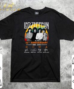 Official Led Zeppelin 50th anniversary 1968 2018 signatures shirt 1 1 247x296 - Official Led Zeppelin 50th anniversary 1968-2018 signatures shirt