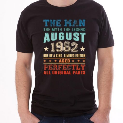 Official Legend August 1982 Retro Vintage 37th Birthday shirt 1 1 510x510 - Official Legend August 1982 Retro Vintage 37th Birthday shirt