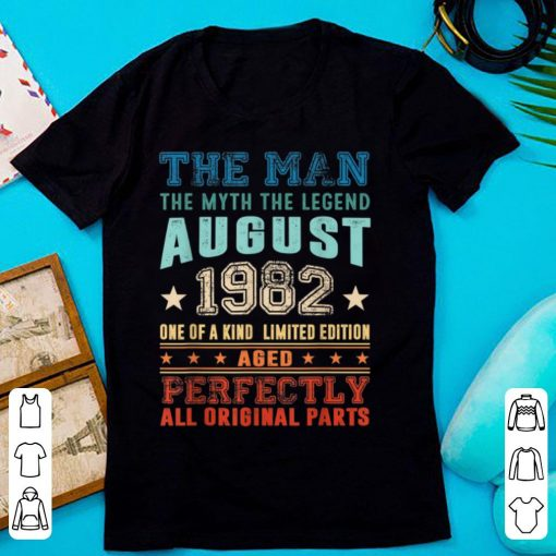 Official Legend August 1982 Retro Vintage 37th Birthday shirt 2 1 510x510 - Official Legend August 1982 Retro Vintage 37th Birthday shirt