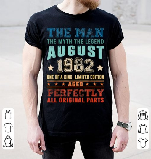 Official Legend August 1982 Retro Vintage 37th Birthday shirt 3 1 510x534 - Official Legend August 1982 Retro Vintage 37th Birthday shirt