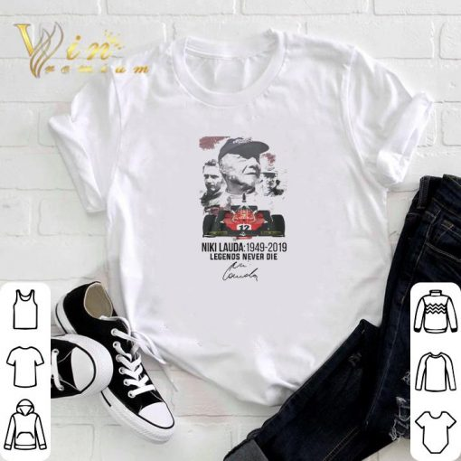 Official Niki Lauda 1949 2019 Legends Never Die Signature shirt 3 1 510x510 - Official Niki Lauda 1949-2019 Legends Never Die Signature shirt