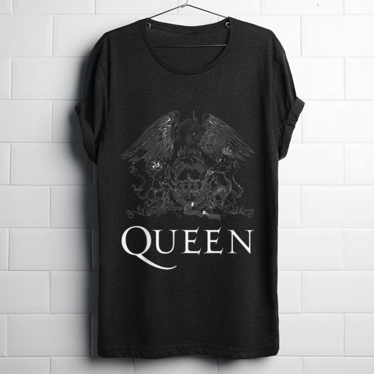 Queen T-shirt Classic Crest Women/'s White