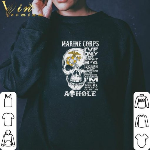 Official Skull Marine Corps i ve only met about 3 or 4 people that understand shirt 3 1 510x510 - Official Skull Marine Corps i've only met about 3 or 4 people that understand shirt