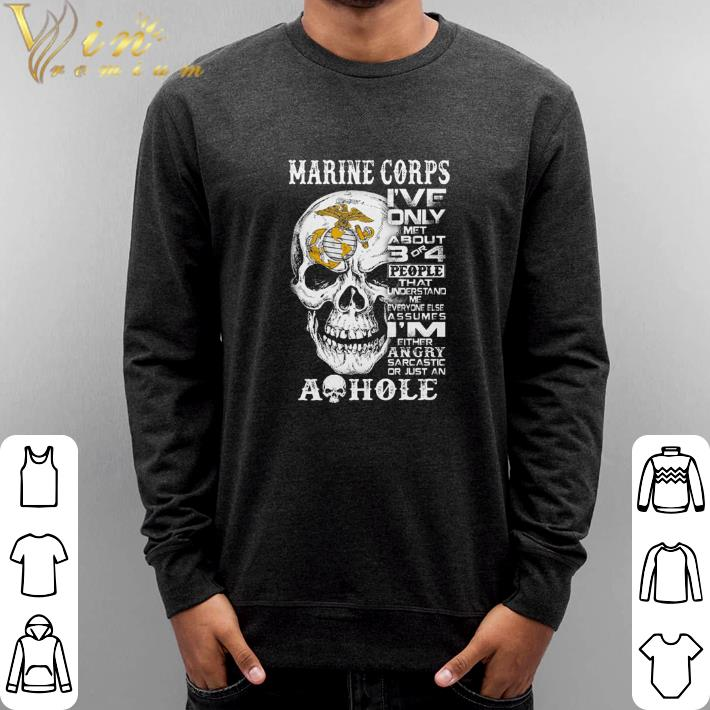 Official Skull Marine Corps i've only met about 3 or 4 people that understand shirt