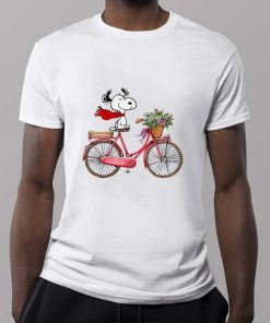 Official Snoopy and bicycle shirt 2 1 247x296 - Official Snoopy and bicycle shirt