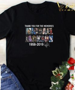 Official Thank you for the memories Michael Jackson 1958 2019 signature shirt 1 1 247x296 - Official Thank you for the memories Michael Jackson 1958-2019 signature shirt