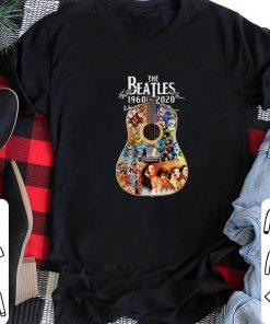 Official The Beatles guitar 1960 2020 signatures shirt 2 1 247x296 - Official The Beatles guitar 1960 2020 signatures shirt