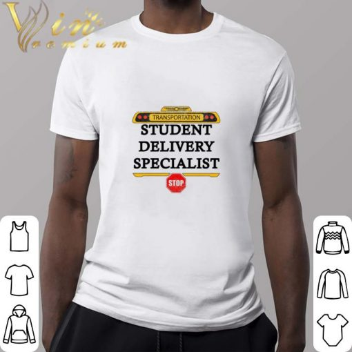Official Transportation student delivery specialist stop shirt 2 1 510x510 - Official Transportation student delivery specialist stop shirt