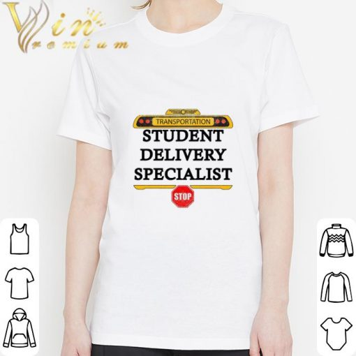 Official Transportation student delivery specialist stop shirt 3 1 510x510 - Official Transportation student delivery specialist stop shirt