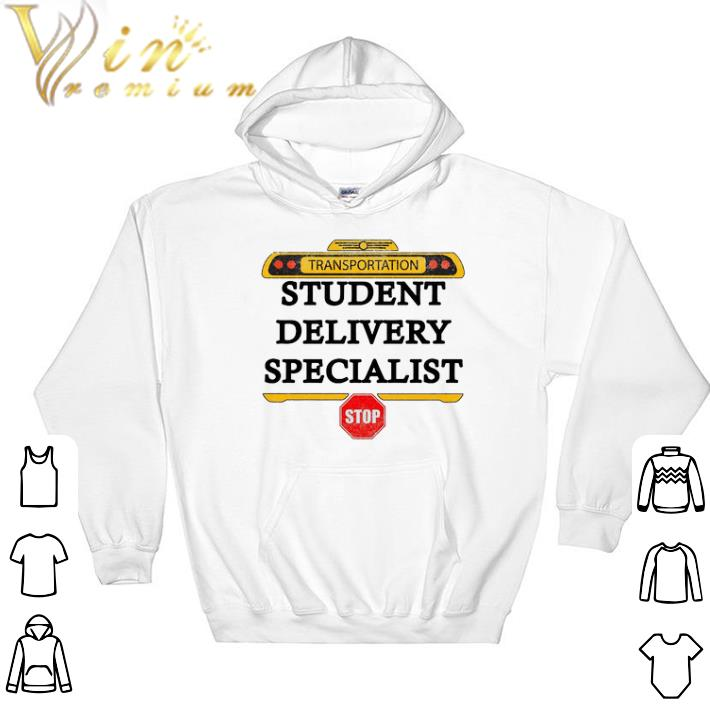 Official Transportation student delivery specialist stop shirt