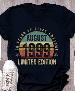Official Vintage Legendary Awesome Epic Since August 1999 shirt 1 1 247x296 - Official Vintage Legendary Awesome Epic Since August 1999 shirt
