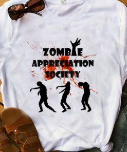 Official Zombie Appreciation Society Halloween shirt 1 1 247x296 - Official Zombie Appreciation Society Halloween shirt