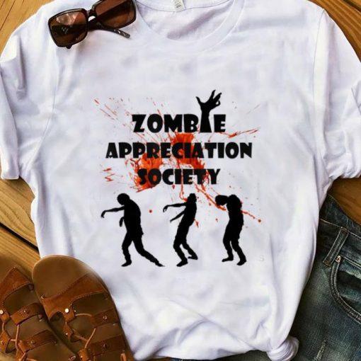 Official Zombie Appreciation Society Halloween shirt 1 1 510x510 - Official Zombie Appreciation Society Halloween shirt