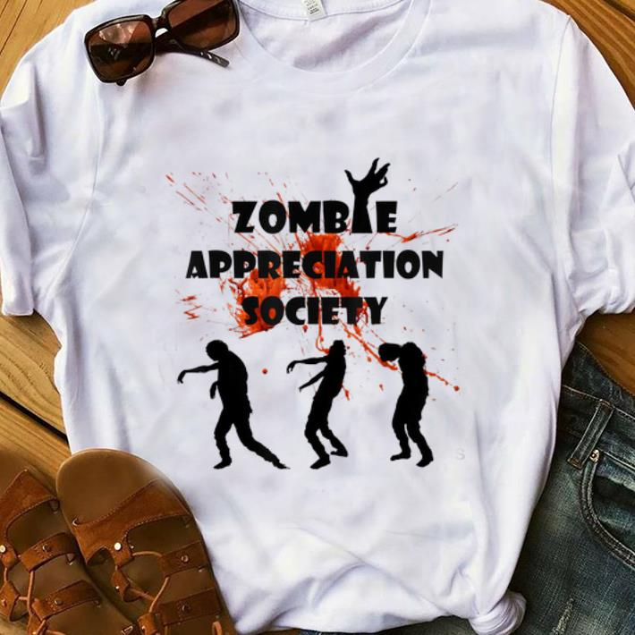 Official Zombie Appreciation Society Halloween shirt
