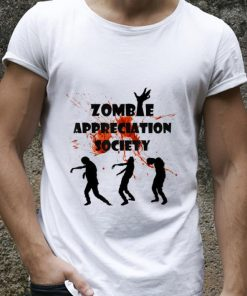 Official Zombie Appreciation Society Halloween shirt 2 1 247x296 - Official Zombie Appreciation Society Halloween shirt