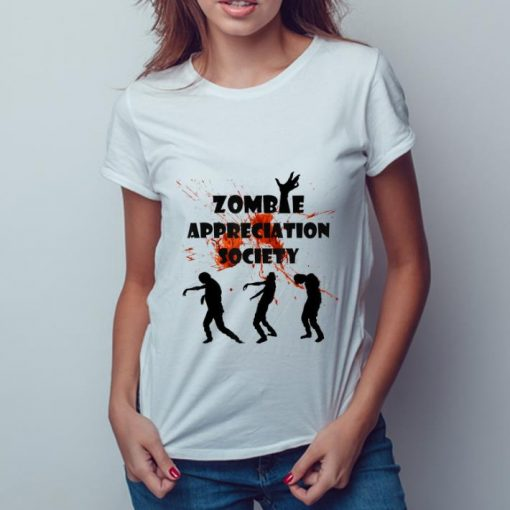 Official Zombie Appreciation Society Halloween shirt 3 1 510x510 - Official Zombie Appreciation Society Halloween shirt