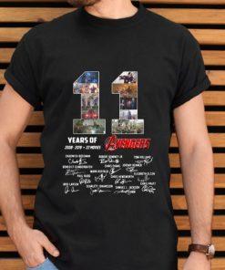 Original 11 years of Avengers 2008 2019 signature shirt 2 1 247x296 - Original 11 years of Avengers 2008 2019 signature shirt