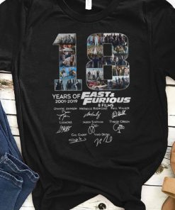 Original 18 Years Of Fast And Furious 8 Films Signature shirt 1 1 247x296 - Original 18 Years Of Fast And Furious 8 Films Signature shirt