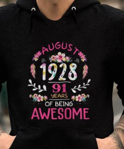 Original August 1928 91 Years Of Being Awsome Floral shirt 2 1 247x296 - Original August 1928 91 Years Of Being Awsome Floral shirt