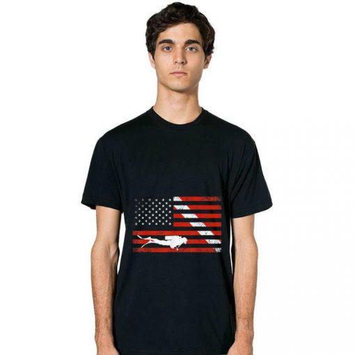 Original Diver Down American Flag shirt 2 1 510x510 - Original Diver Down American Flag shirt