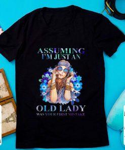 Original Hippie Girl Assuming I m Just An Old Lady Was Your First Mistake shirt 1 1 247x296 - Original Hippie Girl Assuming I'm Just An Old Lady Was Your First Mistake shirt