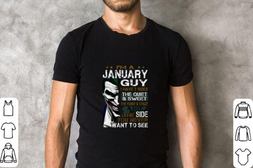 Original I m a january guy i have 3 sides the quiet sweet the funny Joker shirt 2 1 510x340 - Original I'm a january guy i have 3 sides the quiet sweet the funny Joker shirt