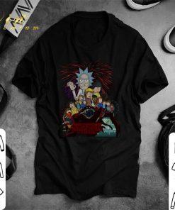 Original Rick and Morty version Stranger Things shirt 1 1 247x296 - Original Rick and Morty version Stranger Things shirt
