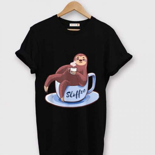 Original Sloffee Sloth Lying On A Cup Of Coffee Sloffee Meme shirt 1 1 510x510 - Original Sloffee Sloth Lying On A Cup Of Coffee Sloffee Meme shirt