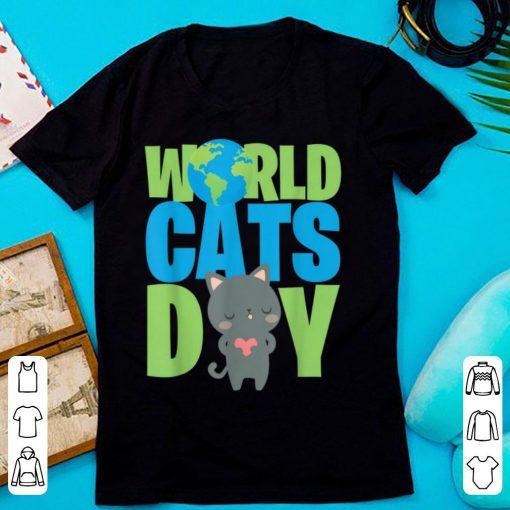 Original World Cats Day Katzen Geschenk Cats Lover shirt 2 1 510x510 - Original World Cats Day Katzen Geschenk Cats Lover shirt