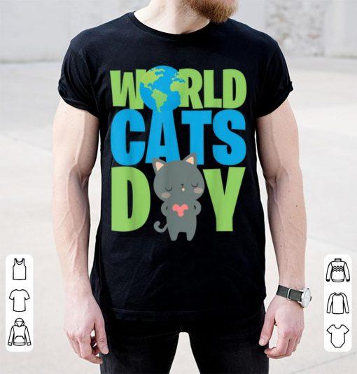 Original World Cats Day Katzen Geschenk Cats Lover shirt 3 1 510x534 - Original World Cats Day Katzen Geschenk Cats Lover shirt