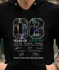 Premium 8 Years Of Arrow Thank You For The Memories Signature shirt 2 1 247x296 - Premium 8 Years Of Arrow Thank You For The Memories Signature shirt