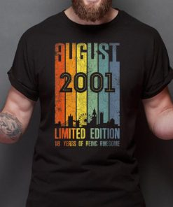 Premium August 2001 Limited Edition 18 Years Of Being Awesome shirt 2 1 247x296 - Premium August 2001 Limited Edition 18 Years Of Being Awesome shirt