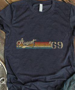 Premium Classic 50th Birthday Vintage August 1969 shirt 1 1 247x296 - Premium Classic 50th Birthday Vintage August 1969 shirt