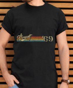 Premium Classic 50th Birthday Vintage August 1969 shirt 2 1 247x296 - Premium Classic 50th Birthday Vintage August 1969 shirt