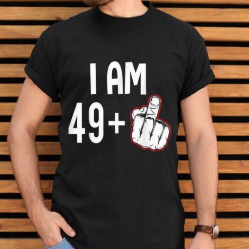 Premium I Am 49 Plus Middle Finger shirt 2 1 510x510 - Premium I Am 49 Plus Middle Finger shirt