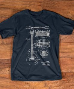 Pretty Guitar Patent Print 1955 shirt 1 1 247x296 - Pretty Guitar Patent Print 1955 shirt