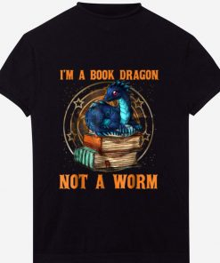 Pretty I m A Book Dragon Not A Worm shirt 1 1 247x296 - Pretty I'm A Book Dragon Not A Worm shirt