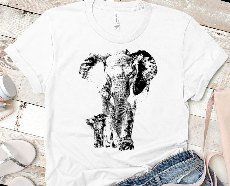 Pretty Save The Elephants Elephant Animal Lover shirt