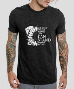 Pretty Sunflower she who kneels before god can stand before anyone shirt 2 1 1 247x296 - Pretty Sunflower she who kneels before god can stand before anyone shirt