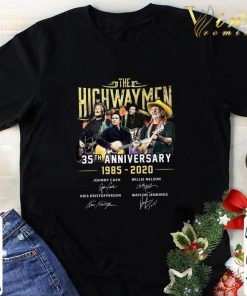 Pretty The Highwaymen 35th anniversary 1985 2020 signatures shirt 1 1 247x296 - Pretty The Highwaymen 35th anniversary 1985-2020 signatures shirt