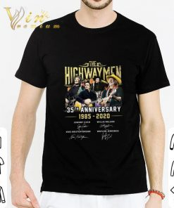 Pretty The Highwaymen 35th anniversary 1985 2020 signatures shirt 2 1 247x296 - Pretty The Highwaymen 35th anniversary 1985-2020 signatures shirt
