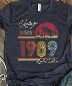 Pretty Vintage 30 Geburtstag Jahrgang 1989 August Limited Edition shirt 1 1 247x296 - Pretty Vintage 30 Geburtstag Jahrgang 1989 August Limited Edition shirt