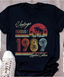 Pretty Vintage 30 Geburtstag Jahrgang 1989 August Limited Edition shirt 1 2 1 247x296 - Pretty Vintage 30 Geburtstag Jahrgang 1989 August Limited Edition shirt
