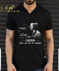 Thank you for the memories Rip Cameron Boyce 1999 2019 signature shirt 2 1 247x296 - Thank you for the memories Rip Cameron Boyce 1999-2019 signature shirt