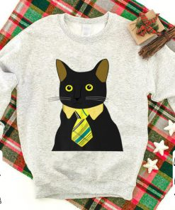 Top Black Business Cat Kitten With Yellow Tie shirt 1 1 247x296 - Top Black Business Cat Kitten With Yellow Tie shirt