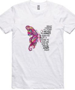 Top Butterfly Breast Cancer is a journey i never planned or asked shirt 1 1 247x296 - Top Butterfly Breast Cancer is a journey i never planned or asked shirt