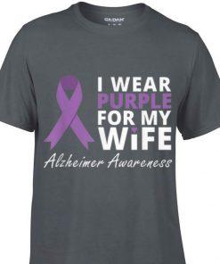 Top I Wear Purple For My Wife Alzheimer Awareness guy tee 1 1 247x296 - Top I Wear Purple For My Wife Alzheimer Awareness guy tee